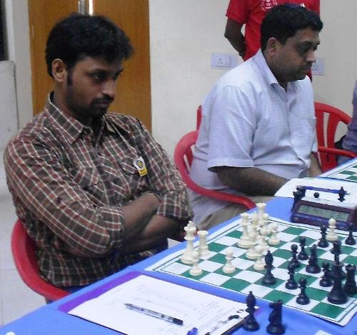 GMs M R Venkatesh and R R Laxman