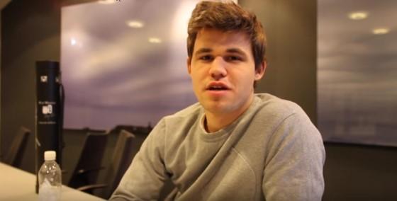 Magnus Carlsen recaps year 2015