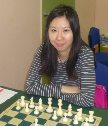 Tournament leader WGM Xiaobing Gu