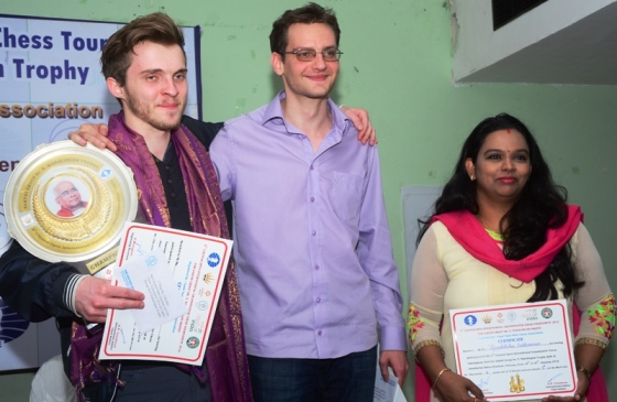 Champion GM Belous Vladimir, Runner-up GM Grachev Boris (both Russia), 3rd place - International Master Vijayalakshmi Subbaraman (India)
