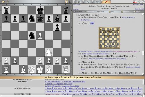 Pick of the Week by GM Boris Avrukh Grünfeld Defense, Improved Nadanian Attack [Key game: A. Tari – M. Vachier-Lagrave, Caleta 2016