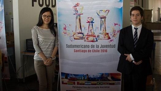 Bicontinental Chess Match Hou Yifan vs Cristobal Henriquez Villagra