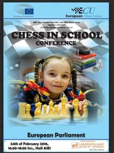 Chess in School Conference Brussels 2016