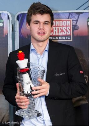 LCC 2015 and GCT 2015 winner Magnus Carlsen