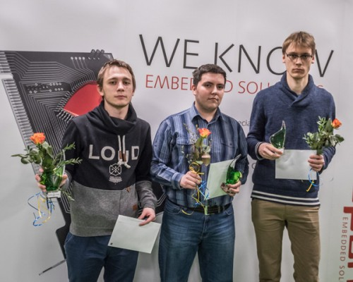 GM Daniil Lintchevski (left) from Russia came second and the host nation saw GM Erik Blomqvist (right) winning the 3rd prize