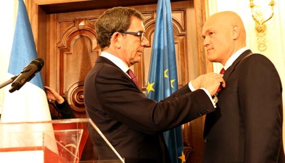 Andrey Filatov awarded Order of the Legion of Honour