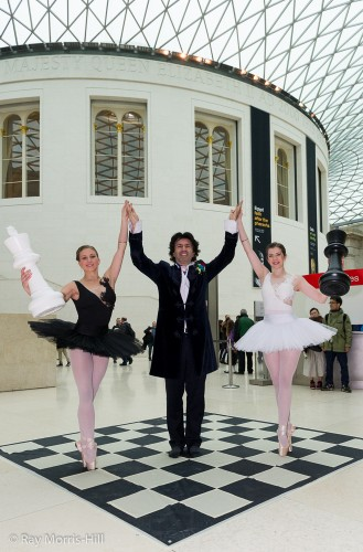 Chess and Ballet with the music of the composer Jason Kouchak
