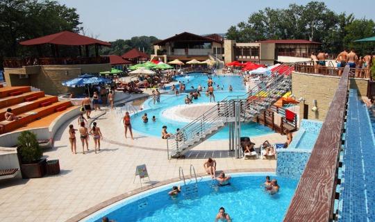 Danubia Park Hotel operates a large aqua-park