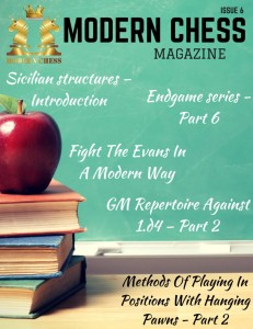 Modern Chess Magazine - Issue 6 cover