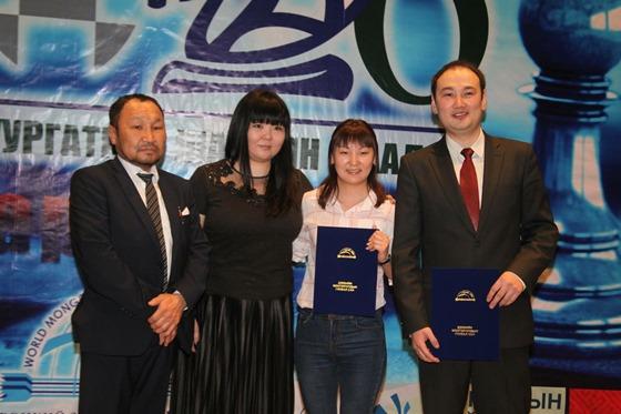 Mongolian Nations chess tournament 3