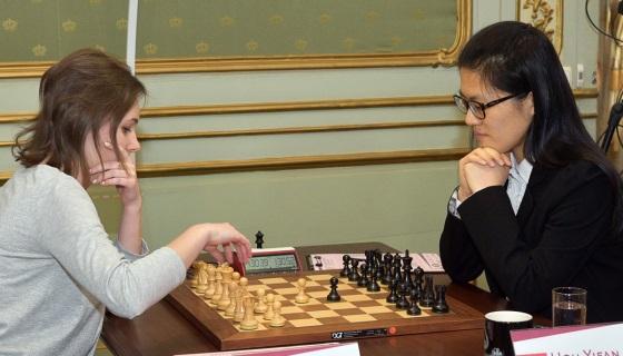 Women's World Chess Championship Match game 1