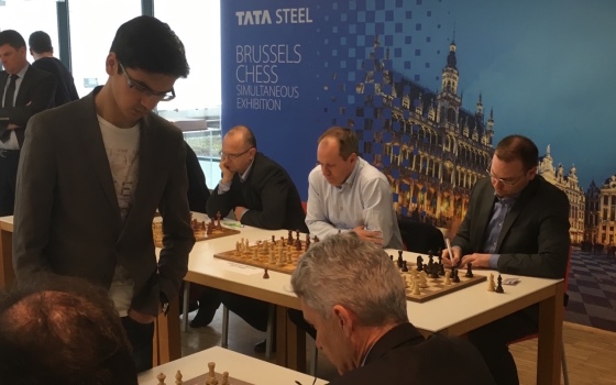 Anish Giri Brussels