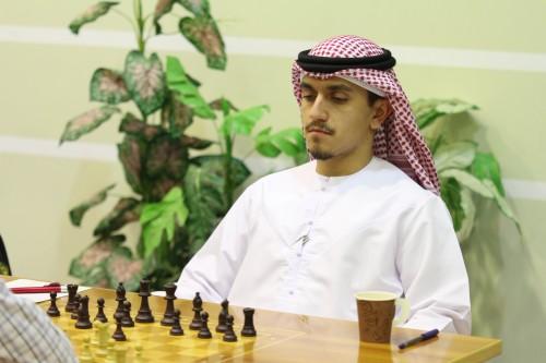 FIDE Master Saeed Ishaq leads the UAE contingent