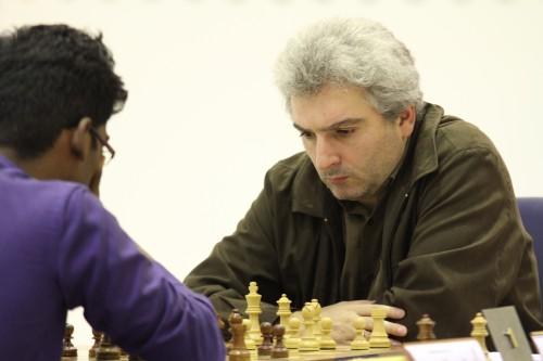 Grandmaster Vladimir Akopian from Armenia