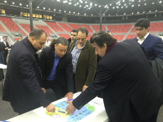 Inspection visit for 42nd Chess Olympiad in Baku