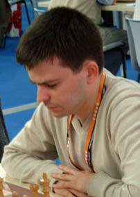 Daniel Jose Queralto at the FIDE Olympiad (photo by olympbase.org)