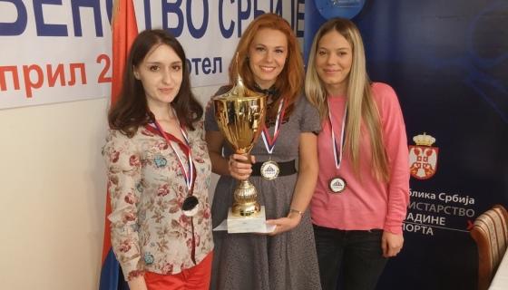 Jovana Eric, Ljilja Drljevic and Sandra Djukic