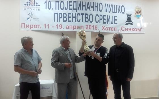 Miroslav Markovic champion
