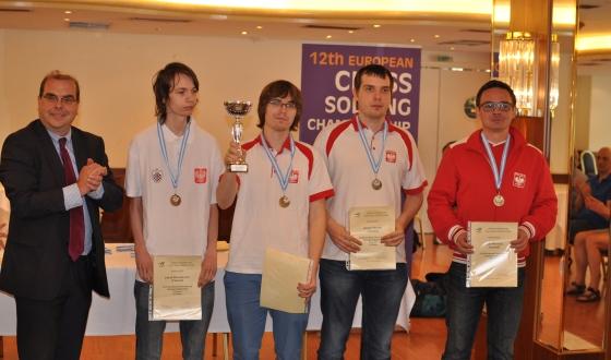 Stathis Efstathopoulos, Jakub Marciniszyn, Piotr Górski, Kacper Piorun, Piotr Murdzia