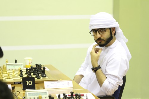 Asian champion GM Salem A.R. Saleh
