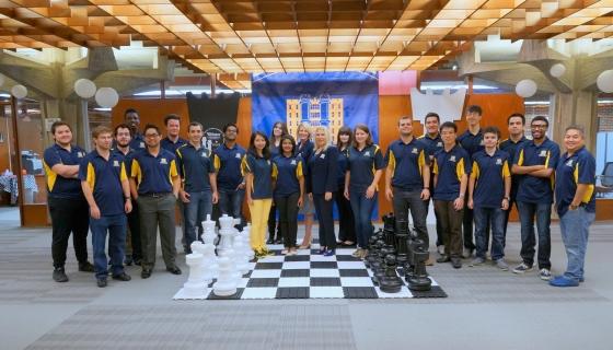 Webster U Chess Team