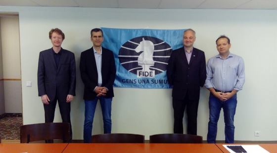 FIDE Commission for Disabled meeting in Tallinn