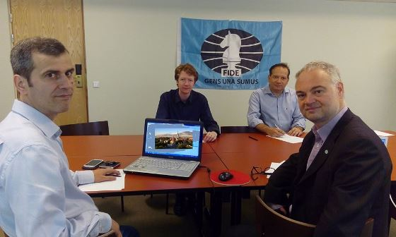 FIDE Commission for Disabled meeting in Tallinn 3