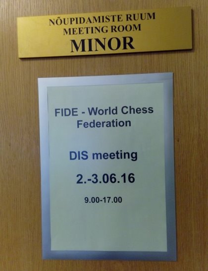 FIDE Commission for Disabled meeting in Tallinn 4