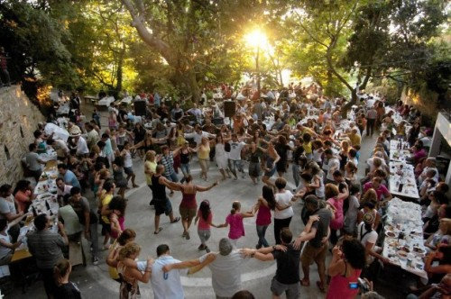 Ikaria is very famous for the panigyria (festivities) taking place all around summer