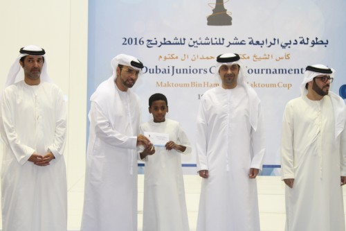 Ebrahim Ahmed Ebrahim emerged Dubai top scorer with 6.5 points