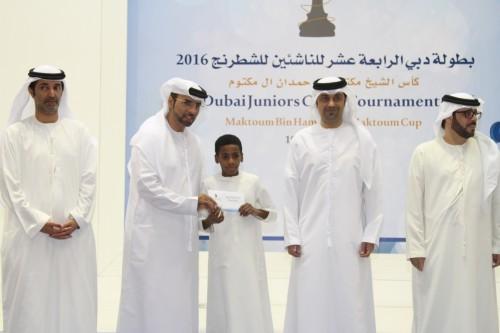 Ebrahim Ahmed Ebrahim emerged Dubai top scorer with 6.5 points
