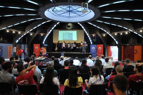 European Universities Chess Games