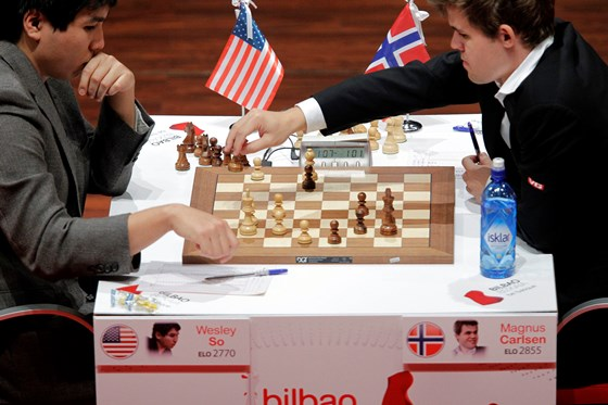 Magnus Carlsen crowned with txapela in Bilbao 3