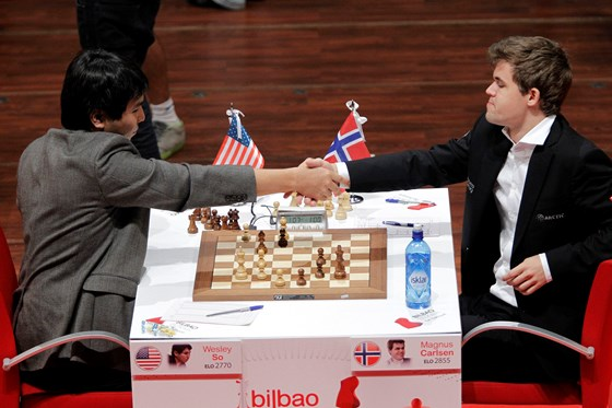 Magnus Carlsen crowned with txapela in Bilbao 4