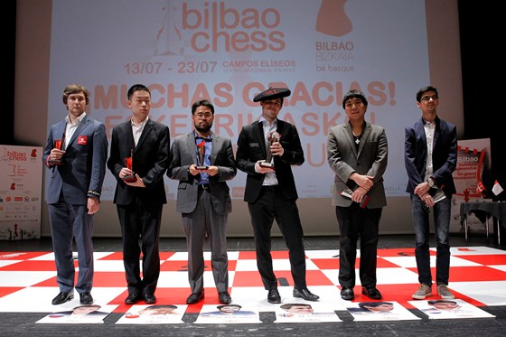 Magnus Carlsen crowned with txapela in Bilbao 5