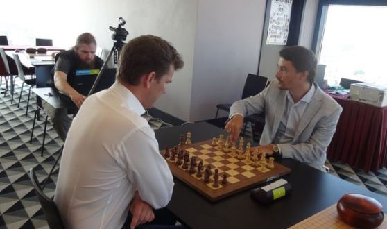 Morozevich defeats Hillarp Persson in Chess-Go match