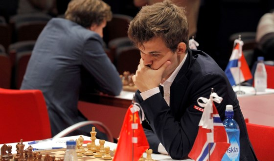 Peaceful Round 7 of Bilbao Masters Final