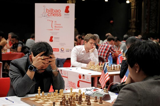 Round 7 of Bilbao Masters Final 2
