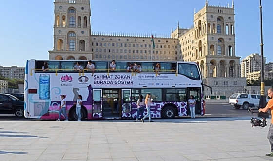 Chess buses launched in Baku