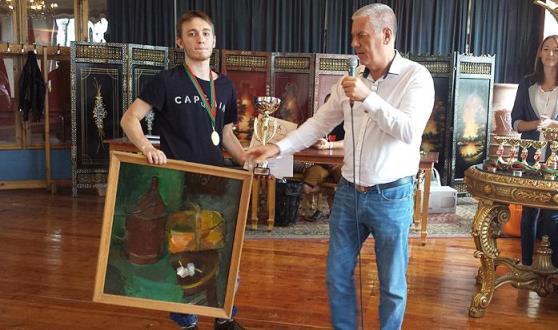 Daniil Lintchevski winner of Liepajas Rokade Super Rapid