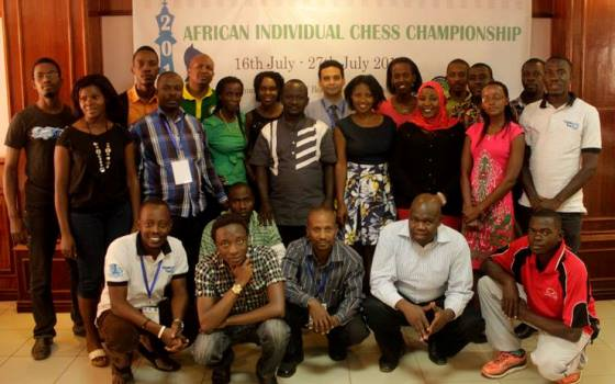 FIDE Arbiters' Seminar in Kampala, Uganda