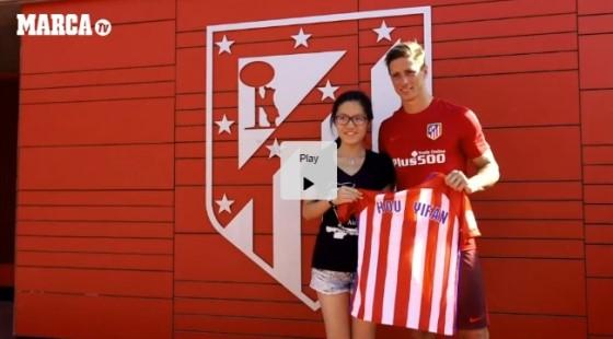 Hou Yifan and Fernando Torres