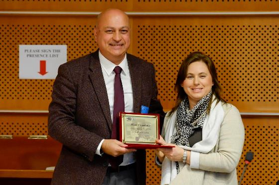 Zurab Azmaiparashvili and Judit Polgar
