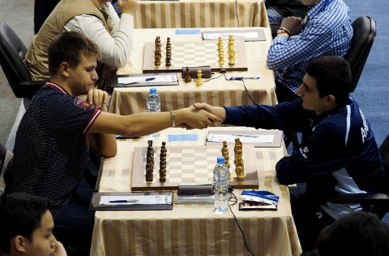 Vavulin Maksim (RUS) and Petrosyan Manuel (ARM)
