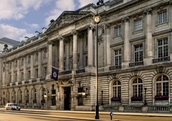 The Royal Automobile Club, situated on Pall Mall
