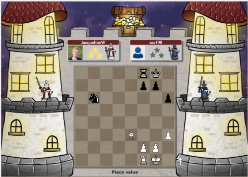 Chessity learning game