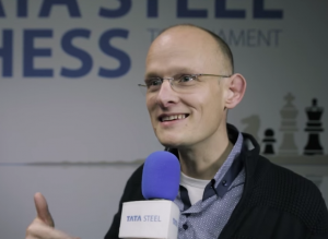 Chessity's Janton van Apeldoorn at Tata Steel Chess