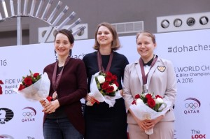Anna Muzychuk wins FIDE World Blitz Championship