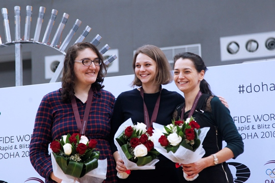 Anna Muzychuk wins FIDE World Rapid Championship