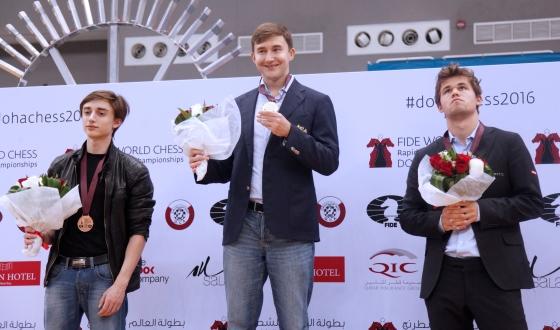 Sergey Karjakin wins FIDE World Blitz Championship